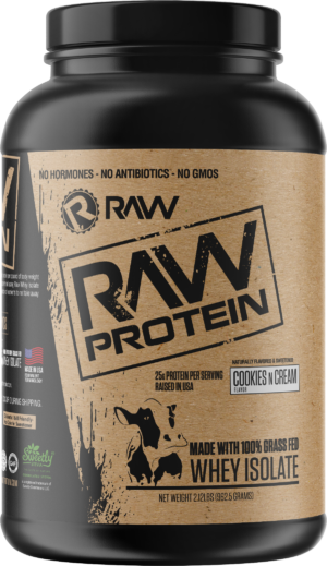 Raw Nutrition Whey Protein Isolate Cookies 'n Cream