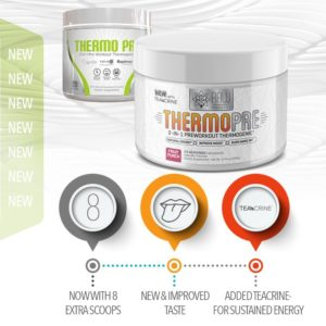 RAW Synergies Thermo Pre Features