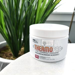 RAW Synergies Thermo Pre Table