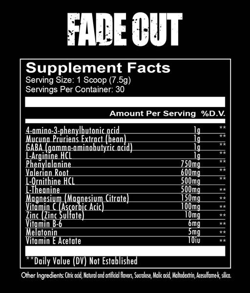 RedCon1 Fade Out: Sleep Supplement Knocks You the F' Out