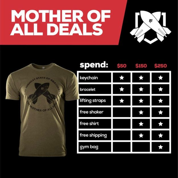 RedCon1 Mother of All Deals Promotion