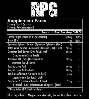 RedCon1 RPG Ingredients