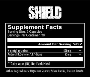 RedCon1 Shield Ingredients
