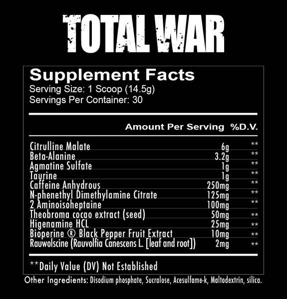 RedCon1 Total War Ingredients