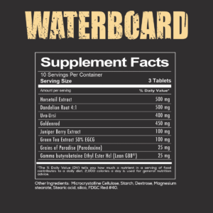 Redcon1 Waterboard Label
