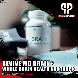 Revive MD Brain+: A Whole Brain Health Nootropic Supplement