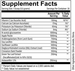 Revive MD GI+ Ingredients