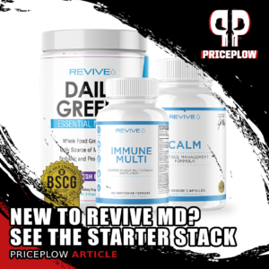 Revive MD Starter Stack: Step 1 in Reviving Your Health