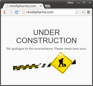Revolt Pharma Website