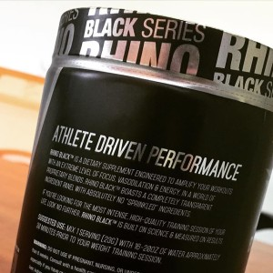 Get ready to lift, jump, and sprint like an elite athlete when you try Rhino Black.