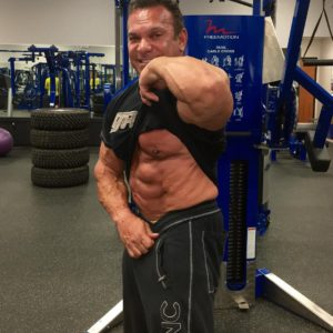 Rich Gaspari Flexing