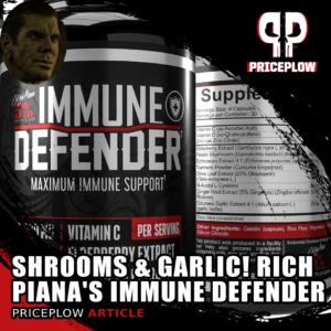 Rich Piana 5% Nutrition Immune Defender