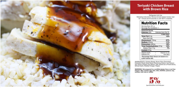 Rich Piana Teriyaki Chicken and Rice