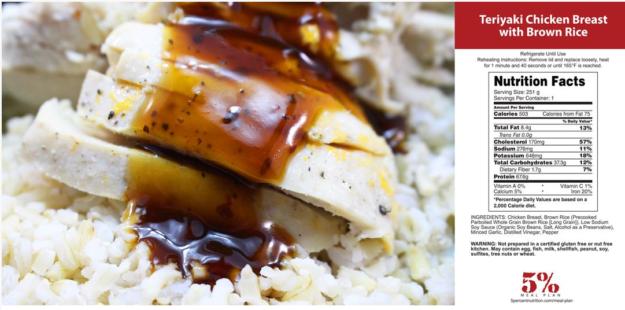Rich Piana Teriyaki Chicken and Rice