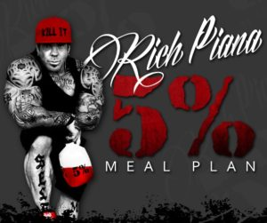 Rich Piana Meal Plan