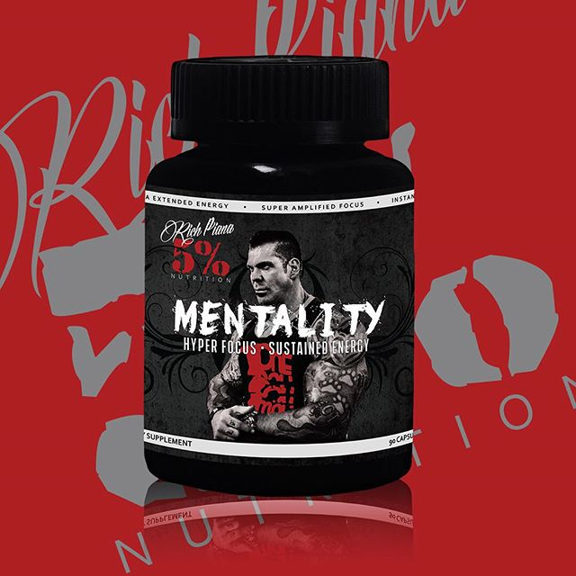 Rich Piana Mentality Banner