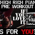 Rich Piana Pre Workout