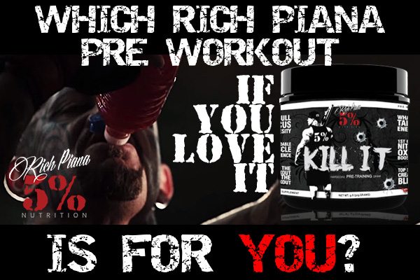 Rich Piana Pre Workout