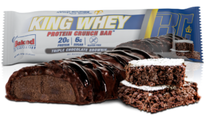 Ronnie Coleman King Whey Crunch Protein Bar Chocolate