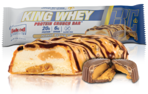 Ronnie Coleman King Whey Crunch Protein Bar Peanut Butter Cup