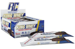 Ronnie Coleman King Whey Crunch Protein Bar