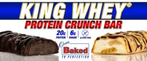 Ronnie Coleman King Whey Crunch Protein Bar Banner