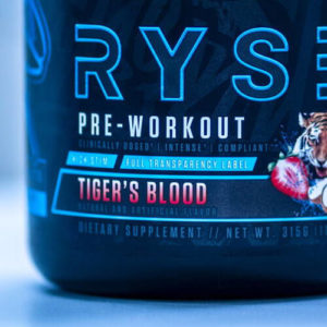 Ryse Supps Blackout Pre Tigers Blood Close Up