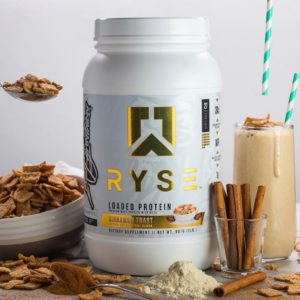 Ryse Supps Loaded Protein Cinnamon