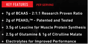Scivation Xtend Perform Ingredients