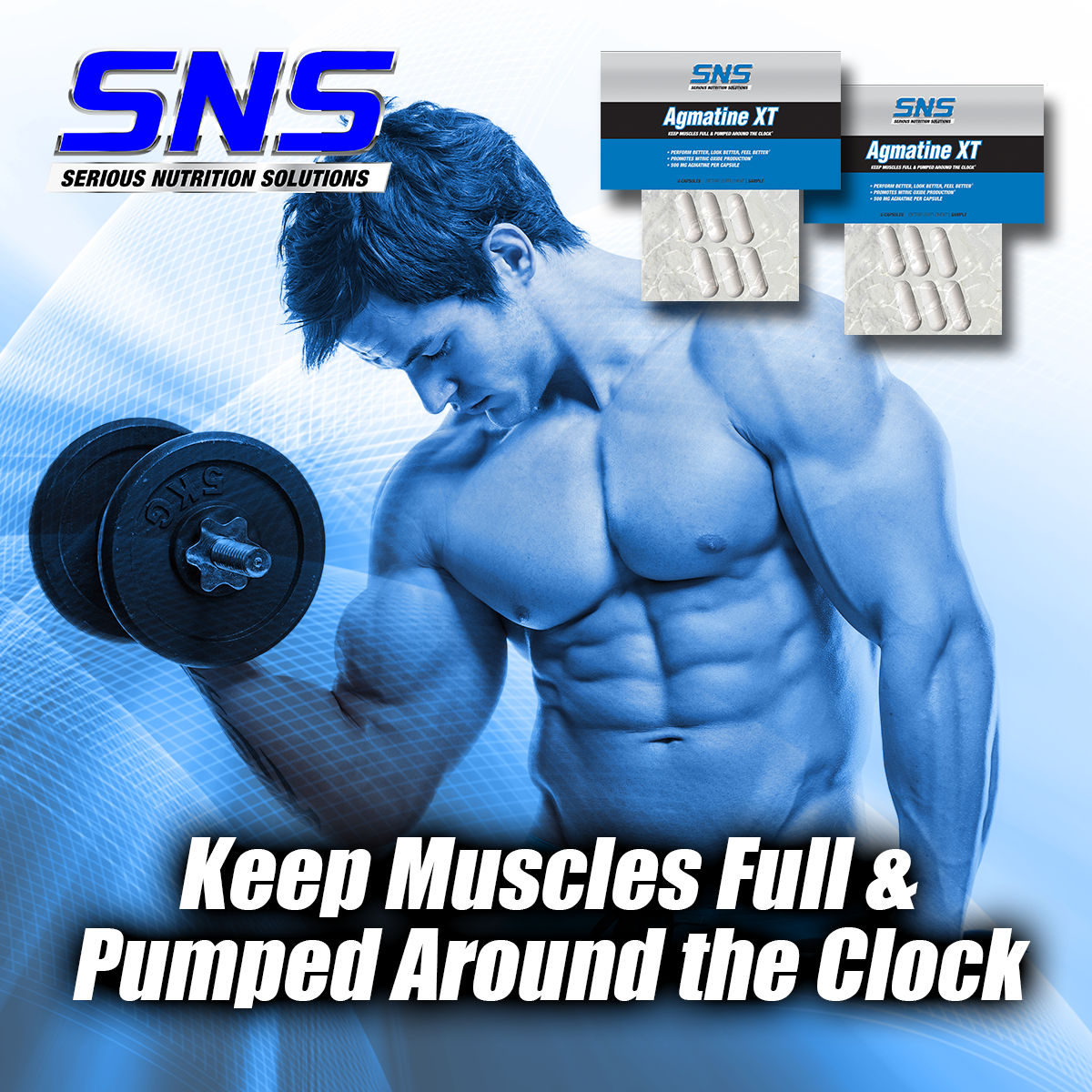 SNS GlycoPhase Turns Carbs into Gym-Smashing Pumps