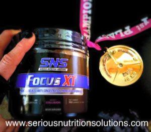 SNS Focus XT Medal