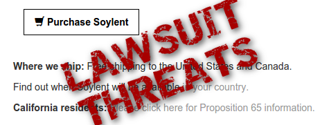 Soylent Lawsuit