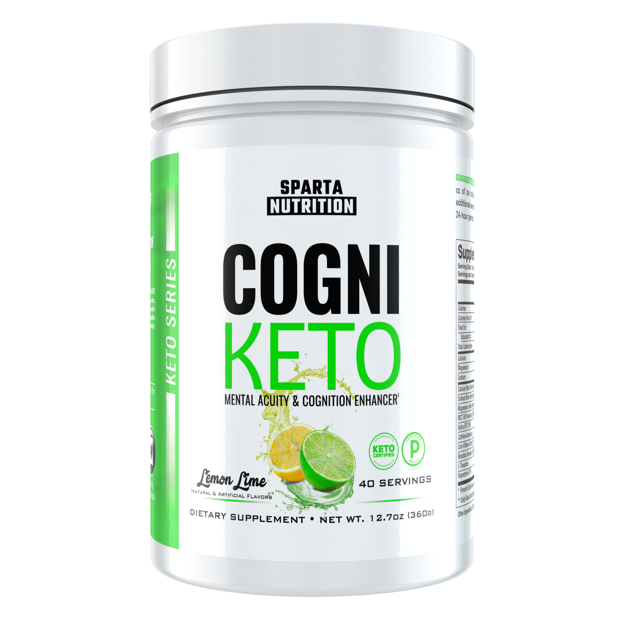 CogniKeto: The Ketogenic Nootropic by Sparta Nutrition