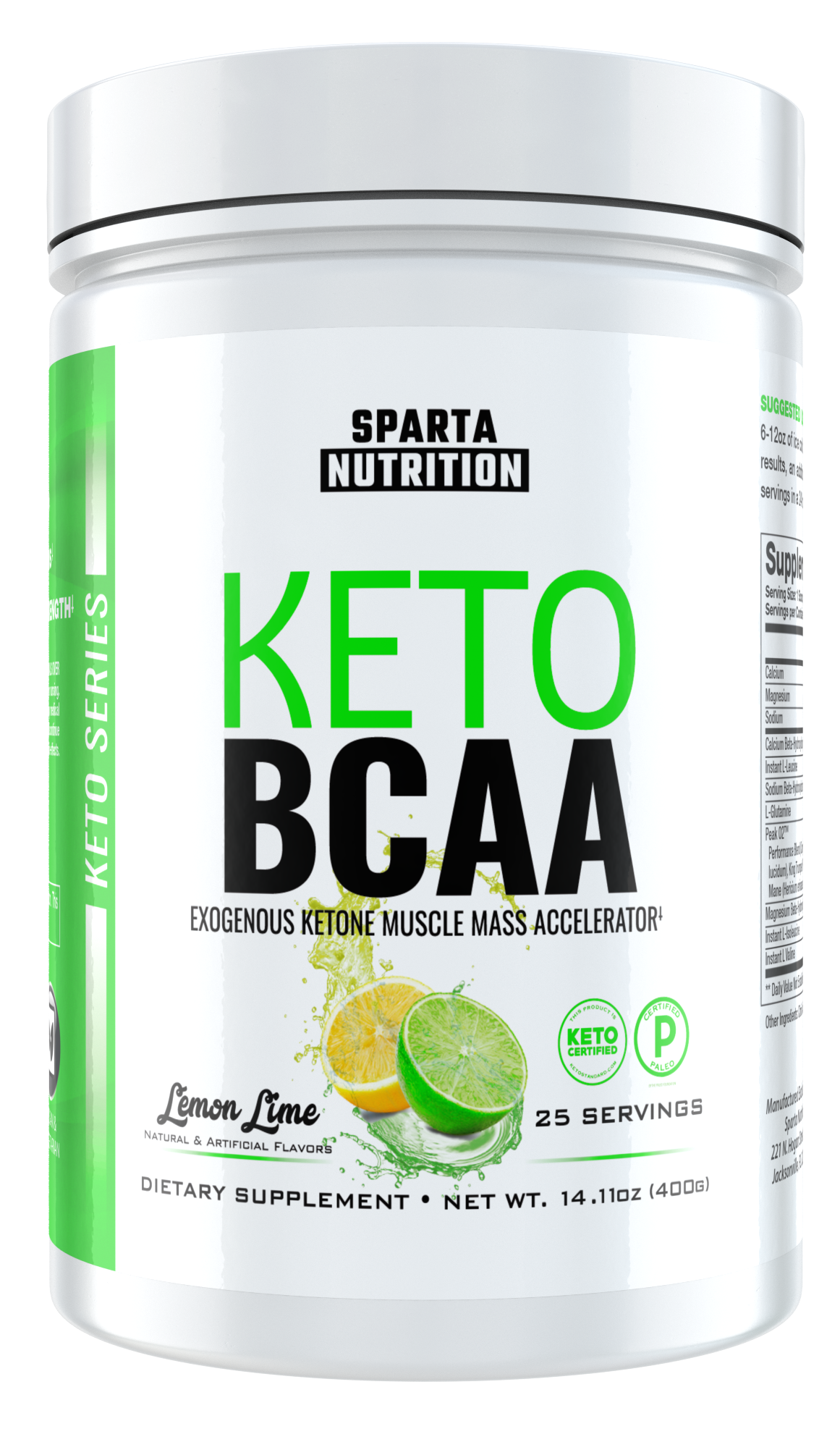 Sparta Nutrition Keto BCAA: A Workout Drink for Keto Dieters