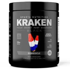 Sparta Nutrition Kraken Black
