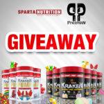 Sparta Nutrition Kraken Pump Giveaway