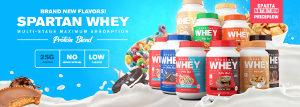 Sparta Nutrition Spartan Whey Rebrand