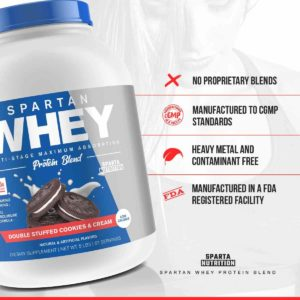 Sparta Nutrition Spartan Whey Features
