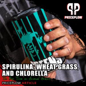 Spirulina Wheat Grass Chlorella
