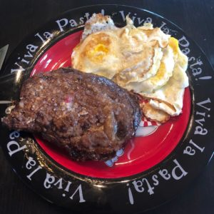 Steak and Eggs Shawn Baker