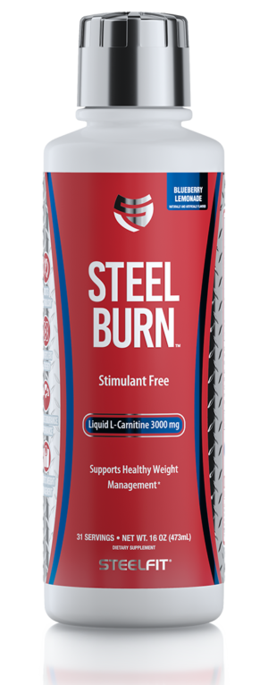Steel Burn Blueberry Lemonade Front