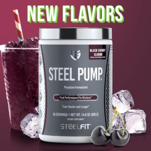 SteelFit Black Cherry Slushie Steel Pump