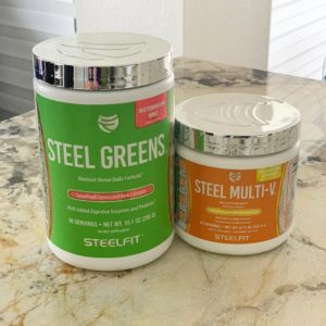 SteelFit Steel Greens and Multi-V