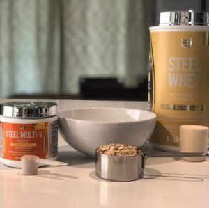 Steel Multi-V and Steel Whey