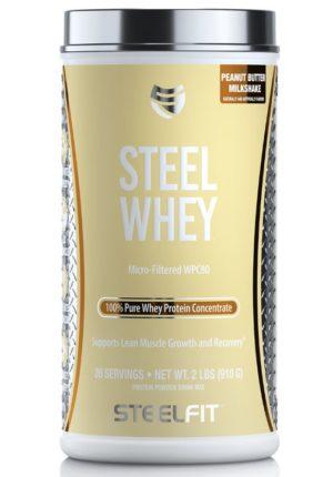 Steel Whey Peanut Butter Milkshake