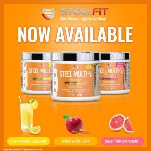SteelFit Steel Multi-V Flavors
