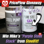 SteelFit Steel Pump Giveaway PricePlow