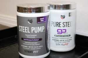 SteelFit Steel Pump Purple Steel Stack