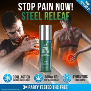SteelFit Steel Releaf Promo