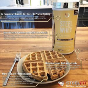 SteelFit Steel Whey Breakfast